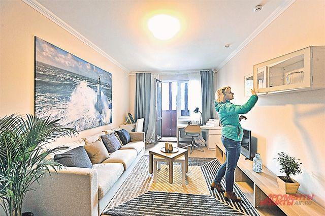 Квартиры, построенные по программе реновации, будут больше по площади на 20-30 процентов, чем старые.