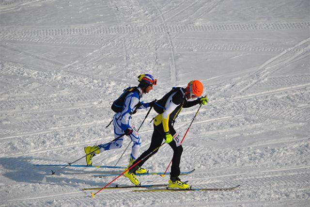 В первый день спортсмены разыграли медали в дисциплине «спринт».