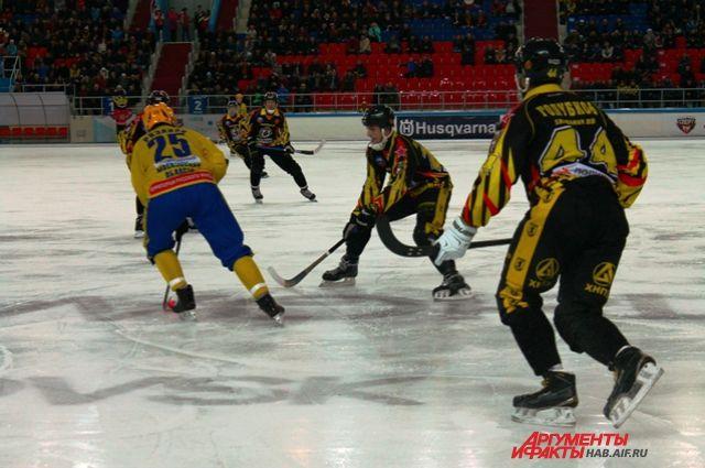 В регулярном чемпионате хабаровской команде осталось сыграть один матч.
