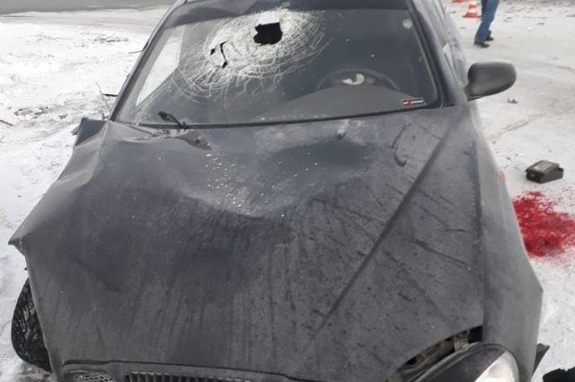 На трассе Оренбург-Орск в ДТП пострадал водитель иномарки.
