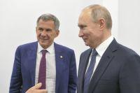 Владимир Путин в Татарстане провел заседание по вопросам жилья.