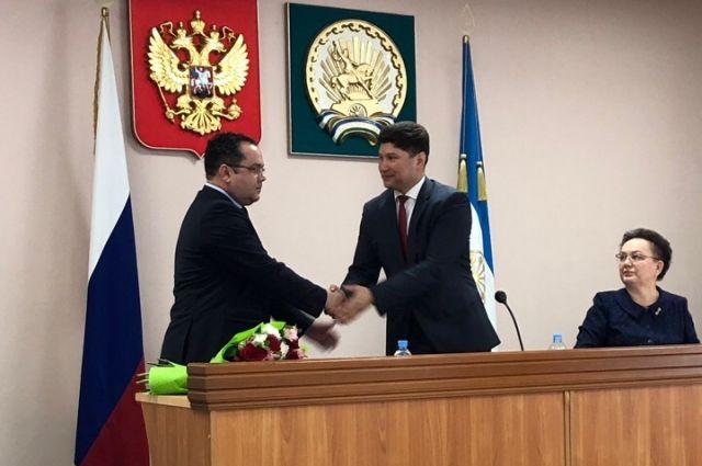Динар Халилов (слева) с Фаритом Гильмановым.