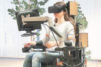 Новейшая разработка российских учёных – инвалидная коляска, которая управляется человеческим взглядом.