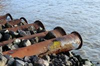 На Ангаре не впервые обнаруживают грубые нарушения водного законодательства.