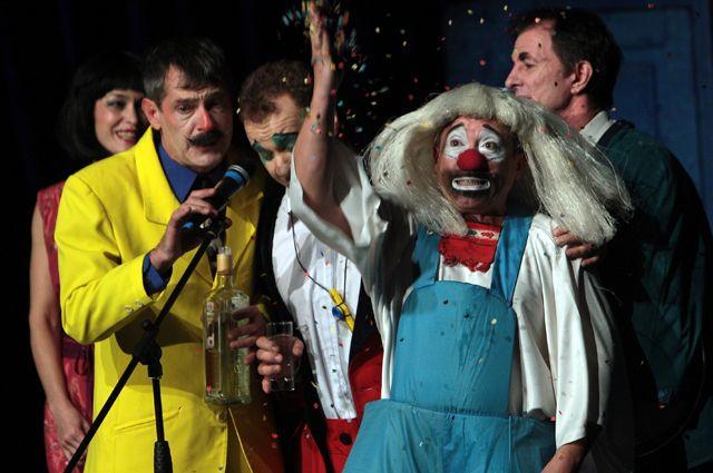 Актеры комик-группы «Маски-шоу», 2009 г.