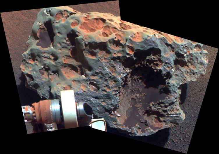 Метеорит Block Island — крупнейший из когда-либо обнаруженных на Марсе.
