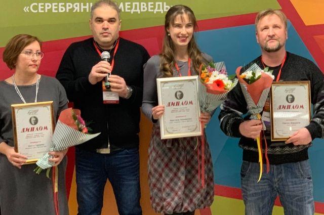Анастасия Переверзева (вторая справа) - победитель 52-го краевого творческого конкурс им. А. П. Гайдара.