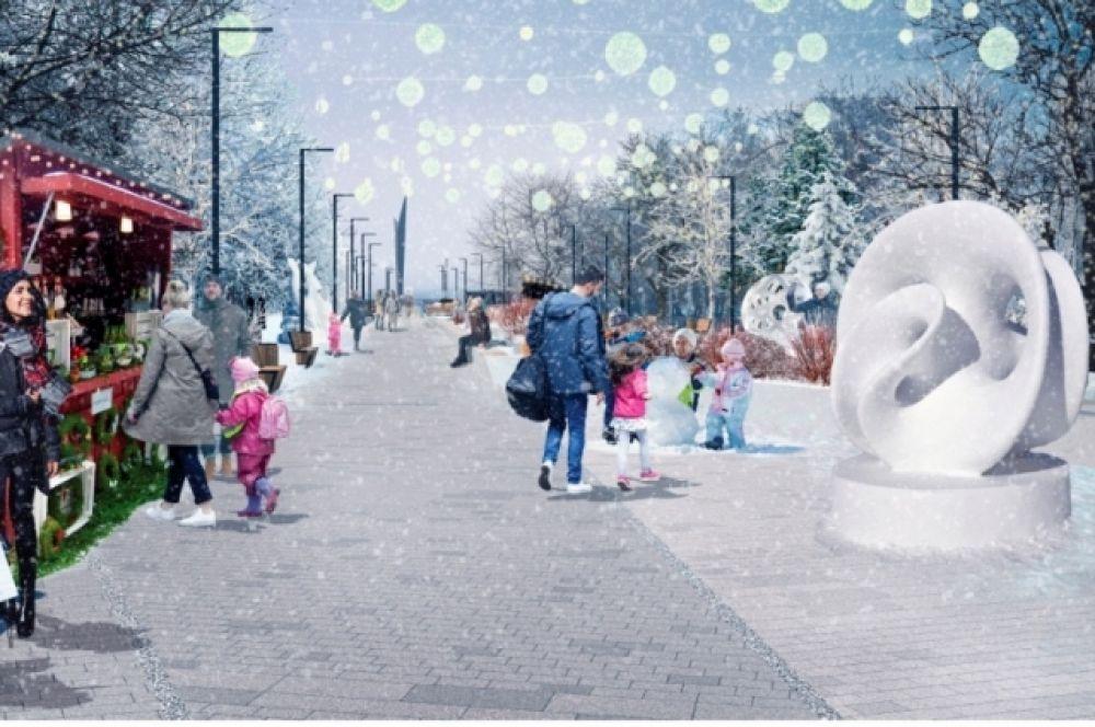 Сквер на ул. Славы
