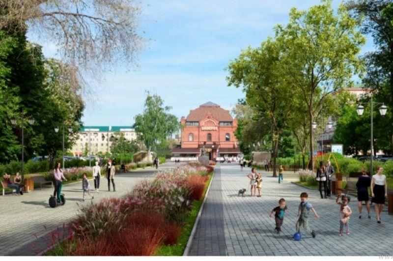 Сквер «Копилка пословиц» на ул. Пушкина