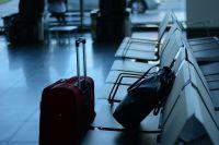Авиарейсом «Москва-Ош» семья киргизов отправились домой.