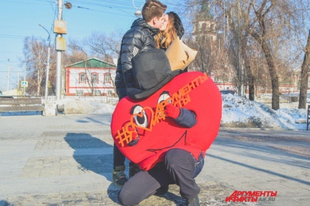 Владимир Попов и Стефания Белоусова