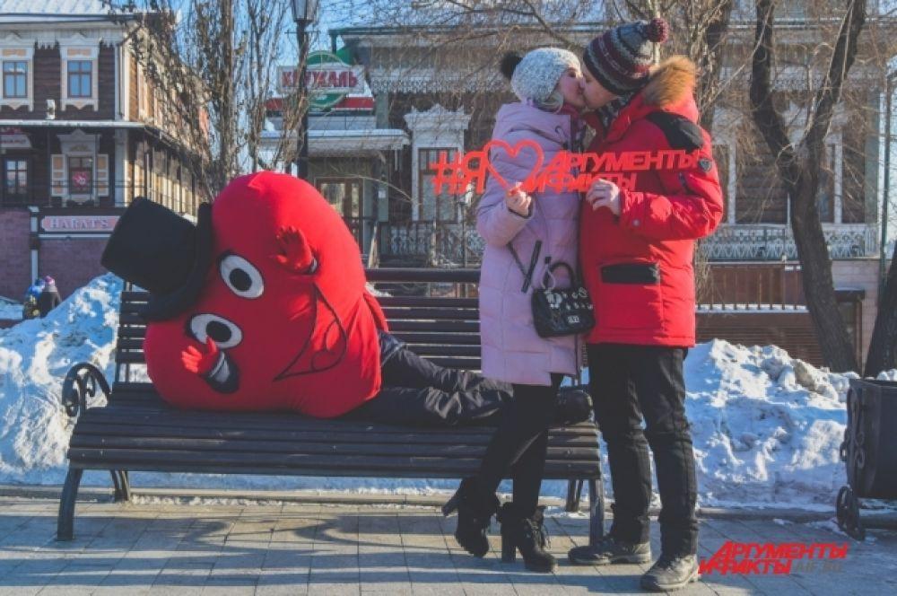 Антипина Екатерина и Домбровский Евгений