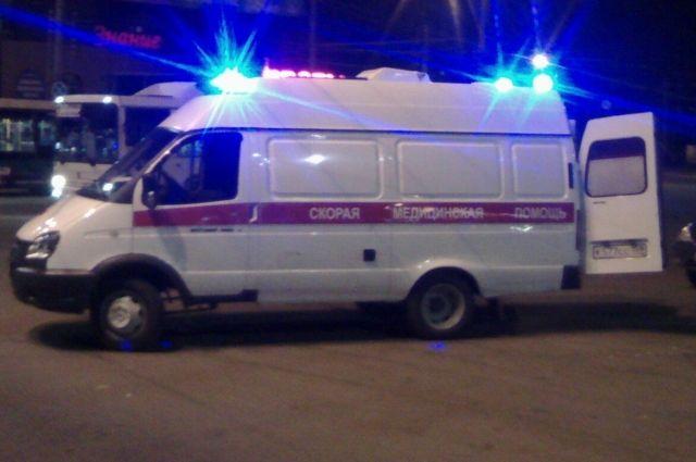 Пострадавшего водителя увезли в больницу.
