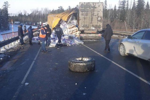 ДТП произошло на 491-ом км федеральной трассы