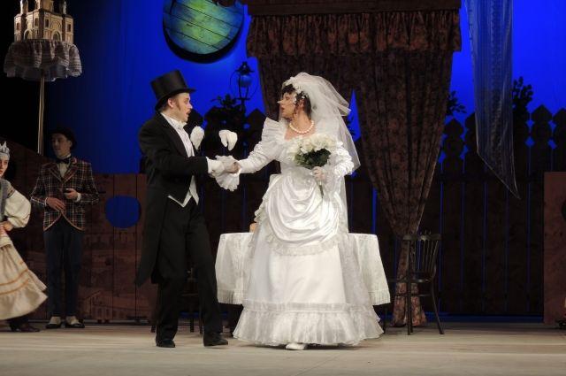 Почему нельзя обманывать невесту. Спектакль в День всех влюбленных