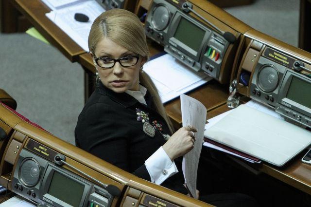 Украинские СМИ сообщили, что на Тимошенко не будут заводить уголовное дело
