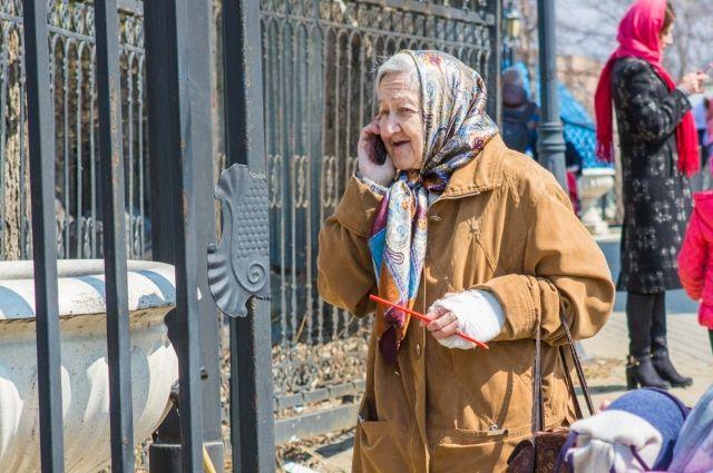 Тюменские пенсионеры участвуют в театральной постановке