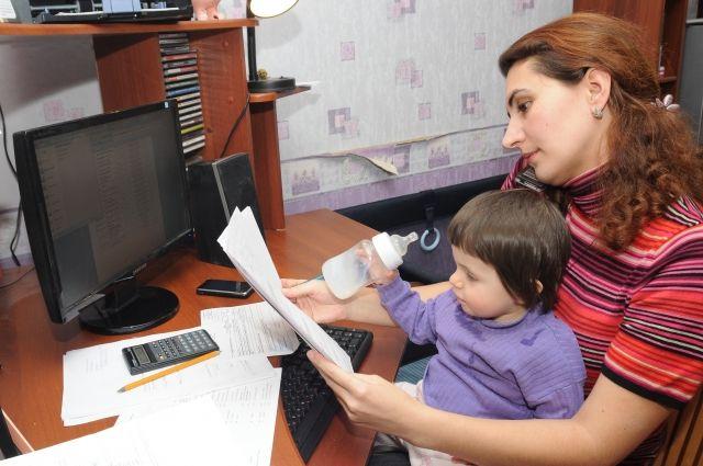 Мамы в декрете осваивают новые профессии