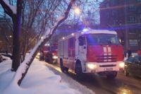 Пожар в центре Перми тушили 47 человек личного состава и 18 единиц техники.