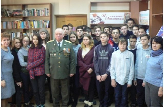 «Нас память вместе собрала»: тюменцы встретились с ветераном афганской войны