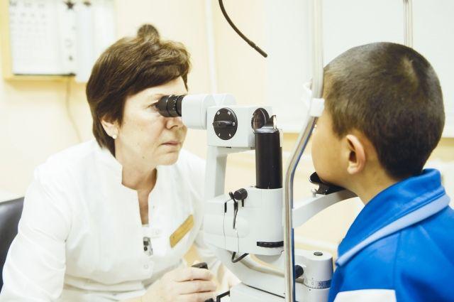 В Тюмени врачи сохранили глаз восьмилетнему мальчику