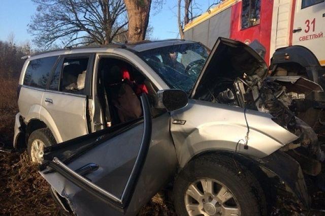 На трассе «Балтийск – Калининград» в ДТП погибла пассажирка