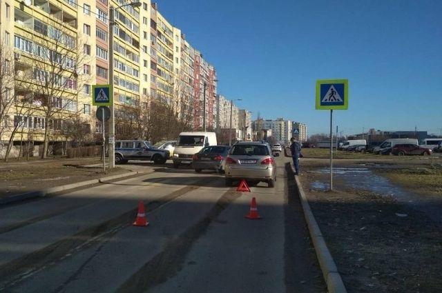 В выходные в Калининграде на зебре сбили ребёнка