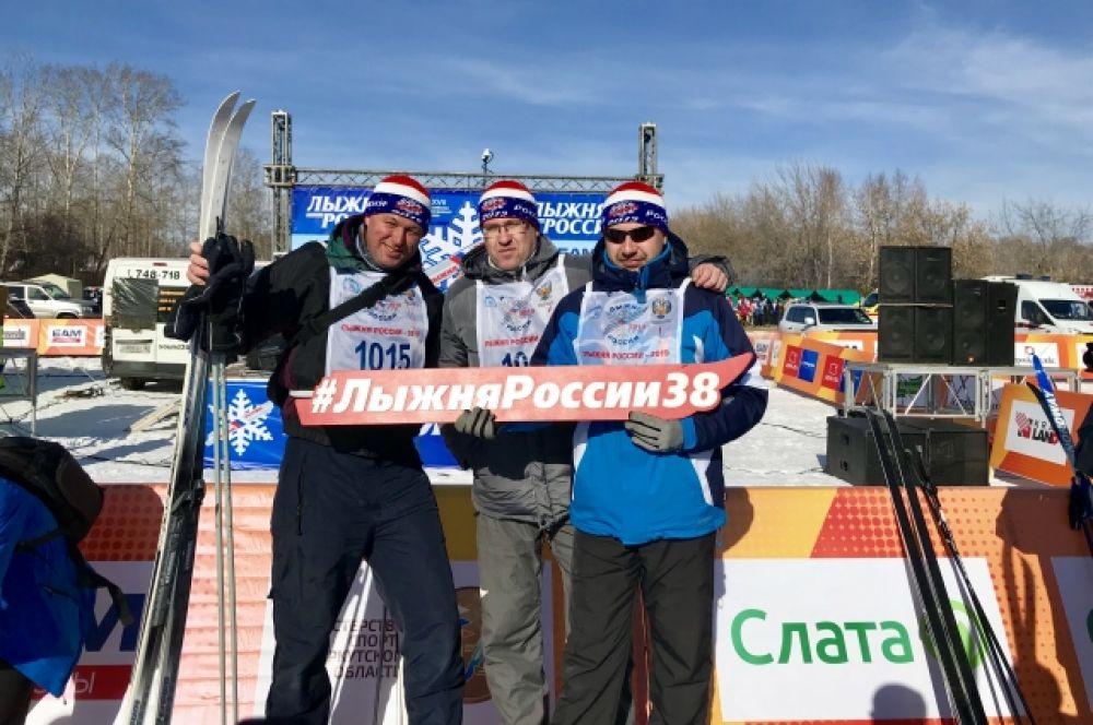 «Лыжня России» - самая массовая лыжная гонка, в которой принимают участие абсолютное большинство субъектов Российской Федерации, в том числе и Иркутская область.