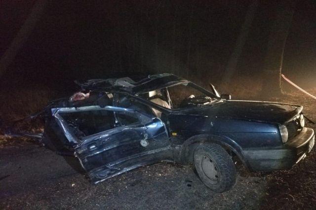 В Краснознаменском районе пьяный водитель устроил смертельное ДТП