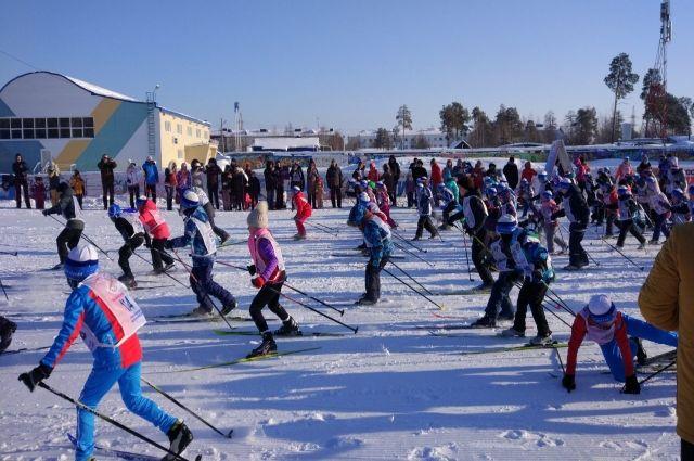 В «Лыжне России» приняли участие более 500 ноябрян