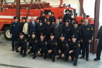 Пожарные села Белоярска Приуральского района переехали в новое депо