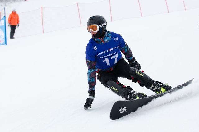 На тюменской набережной состоится соревнование сноубордистов
