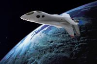 Космическая яхта «Селена» будет выглядеть приблизительно так.