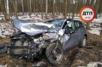 В Вышгородском районе Киевской области произошло ДТП с участием маршрутки, в результате которого пострадали 10 человек.