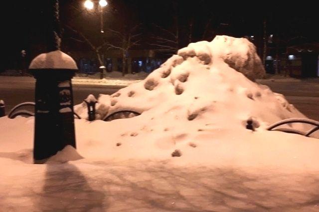 В Тюмени за плохую уборку снега можно получить штраф