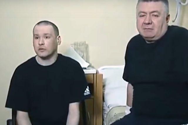 Освобожденные из афганского плена молдавские пилоты Лионел Буруяну и Михаил Крихан.