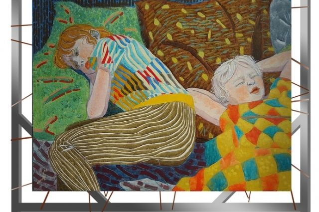 В Омске пройдёт выставка художницы из Екатеринбурга