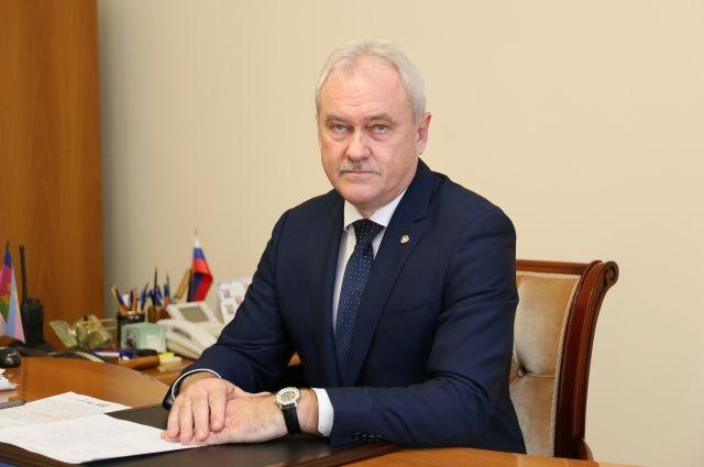 Глава Курганинского района Андрей Ворушилин.