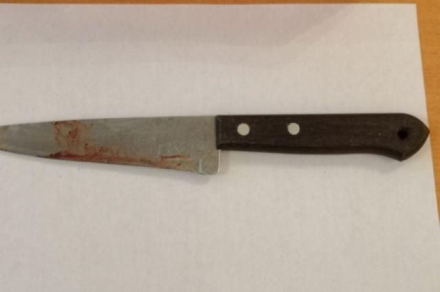 Мужчина взял кухонный нож, отрезал пучок волос, повредив кожу головы своей подруги.