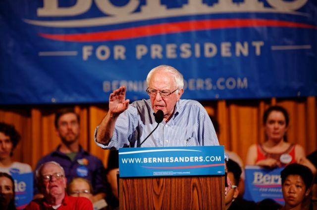 Сенатор-демократ Сандерс хочет баллотироваться на пост президента США