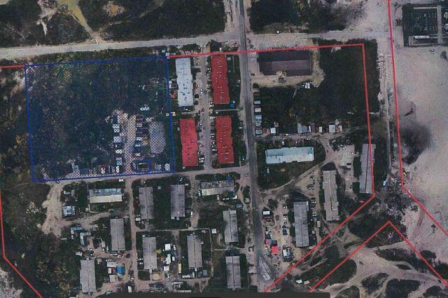 В Ноябрьске приступили к сносу гаражей в районе «Оболонь»