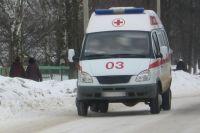 Пострадавшего водителя доставили в больницу.