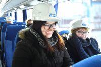 Студенты во время экскурсии по предприятию.