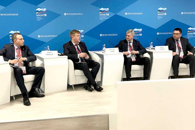14 февраля Александр Гусев принял участие в панельной дискуссии «Перезагрузка» инструментов развития территорий».