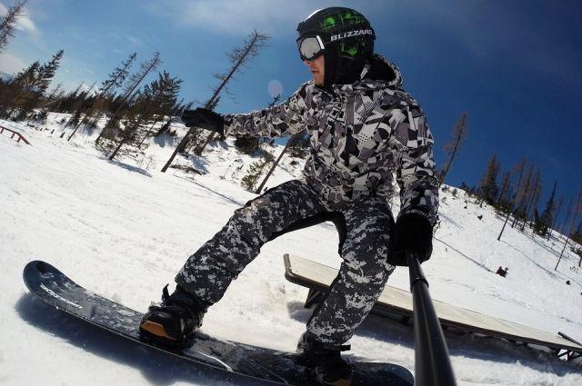 Тюменцы смогут выиграть сноуборд за креативное фото