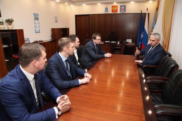 Участники конкурса «Лидеры России» встретились с градоначальником Ноябрьска
