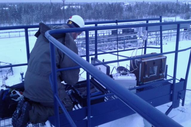 На Ямале ученые изучают снег и атмосферу