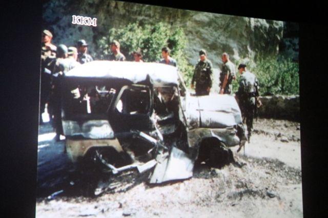 Леонид Русских погиб в бою.