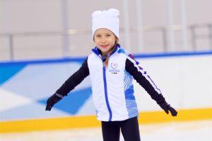 Фигурное катание - любимый зимний вид спорта юного посла.
