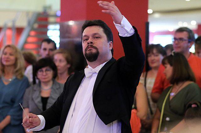 Художественный руководитель Государственного академического русского хора имени А.В. Свешникова Евгений Волков.